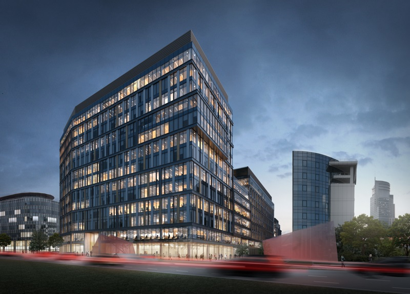 Office complex Proximo in Warsaw (1st stage)