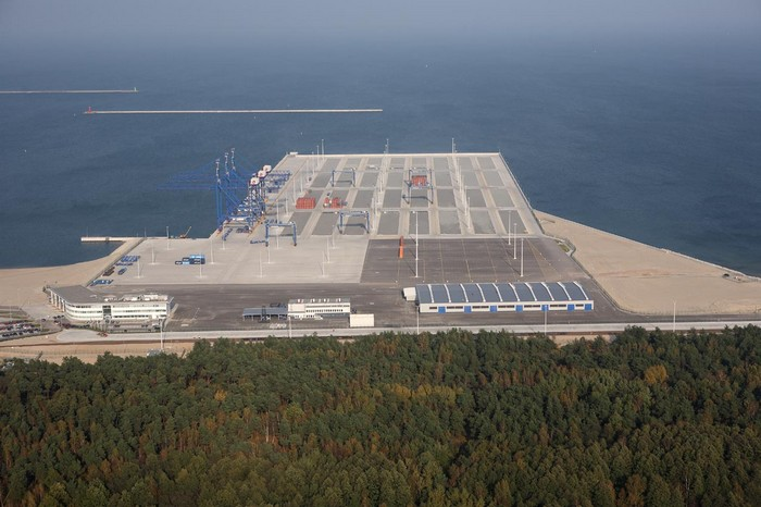 Deep-sea Container Terminal in Gdansk